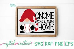 Gnome Place Like Home Baseball SVG, DXF, PNG, EPS Product Image 2