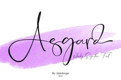 Asgard Signature Font Product Image 2