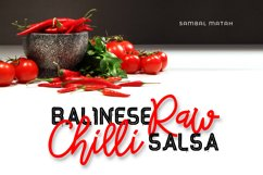 Red Peppers Font Duo Product Image 3