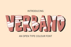 Verband Colour Font Product Image 1