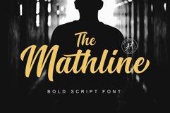 Mathline Bold Script Font Product Image 1