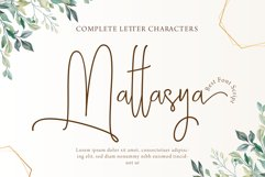 Mattasya - Best Font Product Image 1