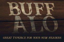 Buffalo Typeface Product Image 3