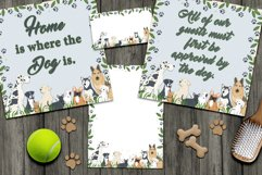 Dog Daze Printable Stationary and Posters Product Image 2