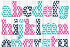 SVG Files Set of 62! Letter and number set includes Uppercase, Lowercase, and Numbers 0-9 svg/png/jpg Product Image 2