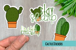 Cactus PNG Sticker Pack Product Image 1