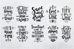 Wine SVG Bundle design set Product Image 5