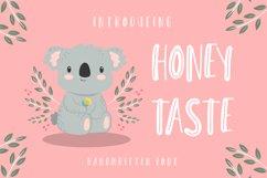 Honey Taste - Cute Handwritten Font Product Image 1