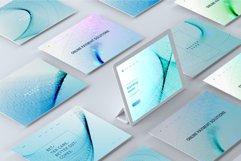 Blue Wavy Backgrounds and Bonus - Web Headers Product Image 5