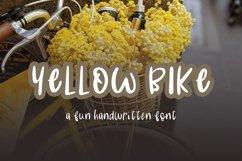 Yellow Bike - an odd handwritten font Product Image 2