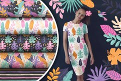 Tropical Cutouts Patterns Set Product Image 5
