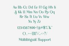 Galgony - Elegant Sans Serif Font Product Image 2