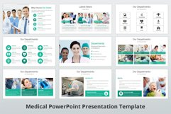 Medical and Healthcare Presentation PowerPoint Template Product Image 6
