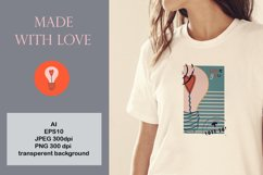 Postage stamps romantic for Valentine's Day Product Image 2