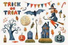 Happy Halloween watercolor set Product Image 3