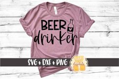 Beer Drinker - Drinking SVG Files Product Image 1