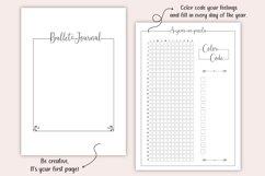 Printable Bullet Journal - Planner Bundle - Planner Kit, PDF Product Image 2