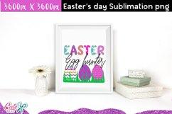 Easter egg hunter Sublimation design Product Image 2