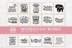 Mothers Day svg bundle png eps dxf - mom life svg mama svg Product Image 3