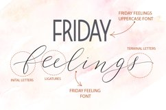 Friday feelings. Font duo. Product Image 2
