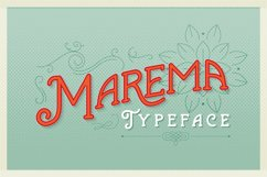 Marema Typeface Product Image 1