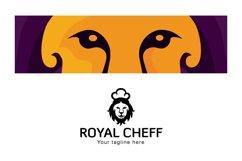 Royal Chef - Lion Animal Stock Logo Design for Restauran Product Image 3