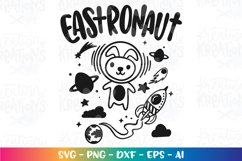 Easter svg Eastronaut Space Bunny baby cute Product Image 2