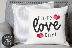 Happy Love Day SVG   Valentine's Day Cut File Product Image 1