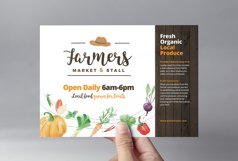 Farmers Market Flyer Template Product Image 2