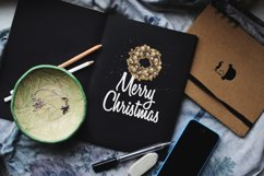 Christmas elements and lettering Product Image 4