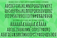 Pickled Limes - a quirky tall & thin font! Product Image 6