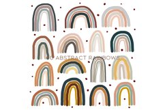 60 Abstract rainbows clipart Product Image 5