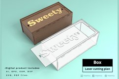 BOX - laser cut file Product Image 1