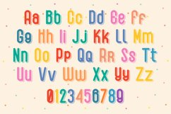 Quirky Shadow Font - Honey Duck Product Image 3