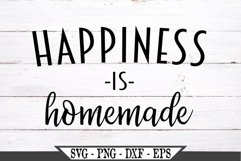 Happiness Is Homemade SVG Product Image 1