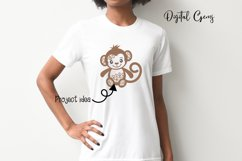 Monkey SVG / PNG / EPS / DXF Files Product Image 6