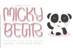 Micky Bear Product Image 1