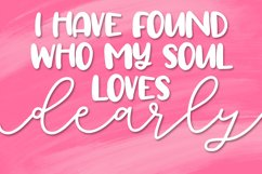 Totally Lovely - A Script & Print Font Duo Product Image 5