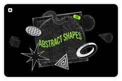 Abstract shapes collection 100 design elements Product Image 1