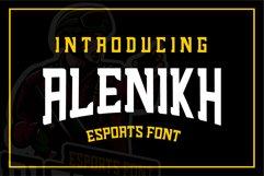 Alenikh Esports Font Logo Product Image 1