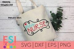 Future Nurse SVG Cut File | SVG DXF |EPS |PNG Product Image 1