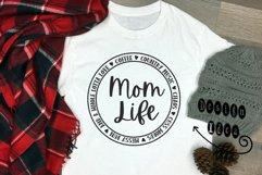 Mom Life Round SVG Product Image 4