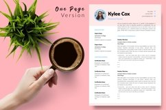 Teacher Resume CV Template for Word & Pages Kylie Cox Product Image 2