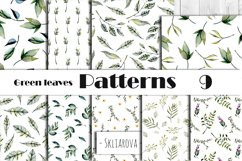 Green leaves Patterns Product Image 1