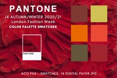 Swatches for photoshop, Pantone Color Autumn Winter 2020-21 Product Image 1