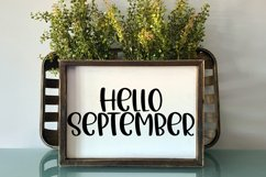 Leaves are Falling - A Cute Hand-Lettered Fall Font Product Image 3