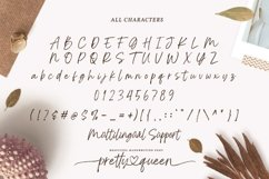 Pretty Queen Lovely Brush Font Product Image 2