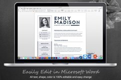 TEACHER Resume Template for MS Word | 2 Page Resume Product Image 6