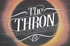 Thron Font Product Image 1