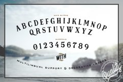 Midnight Owl Display Font Product Image 2